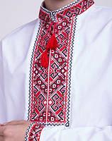Мальчиковая вышитая сорочка крестиком на 13-16 лет