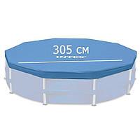 Тент для каркасного бассейна 305 см. intex 28030