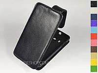 Откидной чехол из натуральной кожи для Huawei U8833 Ascend Y300