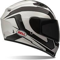 Мотошлем BELL Qualifier Cam ECE белый черный XL