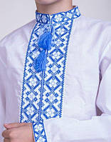 Мальчиковая вышитая сорочка крестиком 140-170