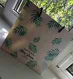 Подарунковий Пакет Листя 22 см / Подарочный Пакет Листья 220 мм, фото 2