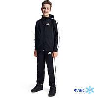 Утепленный спортивный костюм найк для подростка