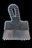 Шпатель из нержавеющей стали зуб 150 мм 6х6
