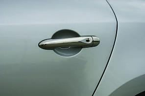 Комплект накладок на ручки Renault Megane III 2010+ (4шт)