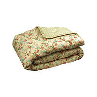 Одеяло особо теплое овечья шерсть поплин 172х205 Руно English style