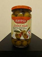 Оливки зеленые с паприкой Baresa Zielone Oliwki, 290 г