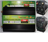 Преобразователь с зарядкой POWER INVERTER 7200 W + UPS 12 V/220