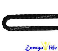 Энергоцепь открытая (гибкий кабельный канал) 14/10,5 мм, радиус 25