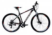 "Велосипед KINETIC STORM 29"", рама 22"", черно-оранжевый"