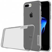 "TPU чехол Nillkin Nature Series для Apple iPhone 7 plus (5.5"") (Серый)"