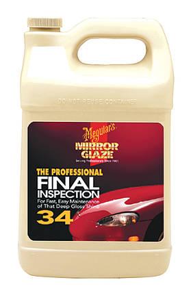Инспекционный очиститель для удаления паст - Meguiar's Professional Final Inspection 3,79 л. (M3401), фото 2