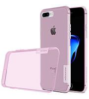 "TPU чехол Nillkin Nature Series для Apple iPhone 7 plus (5.5"") (Розовый)"