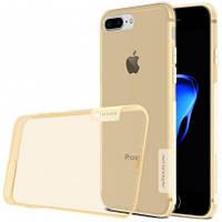 "TPU чехол Nillkin Nature Series для Apple iPhone 7 plus (5.5"") (Золотой)"