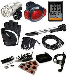 Велосипедные аксессуары и инструмент