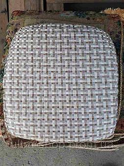 Чехлы на табуретки, упаковка 4шт + поролон  №69