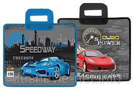 """Папка-портфель """"Speedway"""" пластиковая с пластиковыми ручками"""
