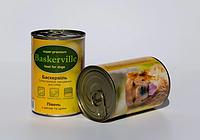 Консервы Baskerville для собак петух с рисом и цукини, 400 г