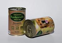 Консервы Baskerville для собак кролик с вермишелью и морковью, 800 г