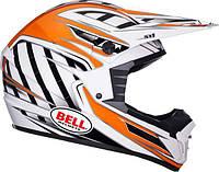 Мотошлем BELL SX-1 Switch ECE черный белый оранжевый S