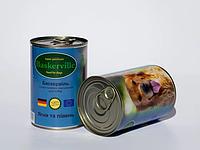 Консервы Baskerville для собак ягненок и петух, 800 г , фото 1