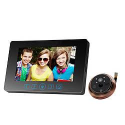"""Видеоглазок с датчиком движения Home Light G7 4,3"""" HD"""