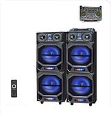 "Активная стерео система колонки Ailiang UF-7921, Bluetooth, 180W, 10"" дюймов, подсветка"