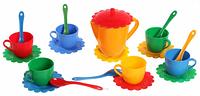 Набор игрушечной посуды Ромашка ЛЮКС арт. 39087 ZC