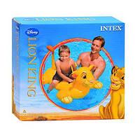 Плотик 58520 надувная игрушка для плавания «Львенок», для детей  119-84 см FD