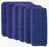 BW Велюр матрац 67274 (4шт) синий, 193-122-22см ZFP