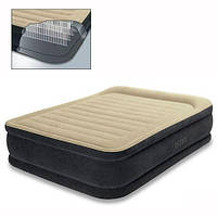 Велюр кровать 64408  с подголовником, с встроенным эл насосом 220В XCN