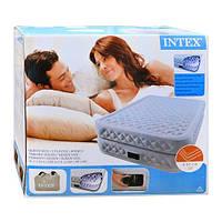 Велюр кровать 66962 высокая, двуспальная, с функцией памяти и встроенным насосом 220 V 152-203-51см MPV