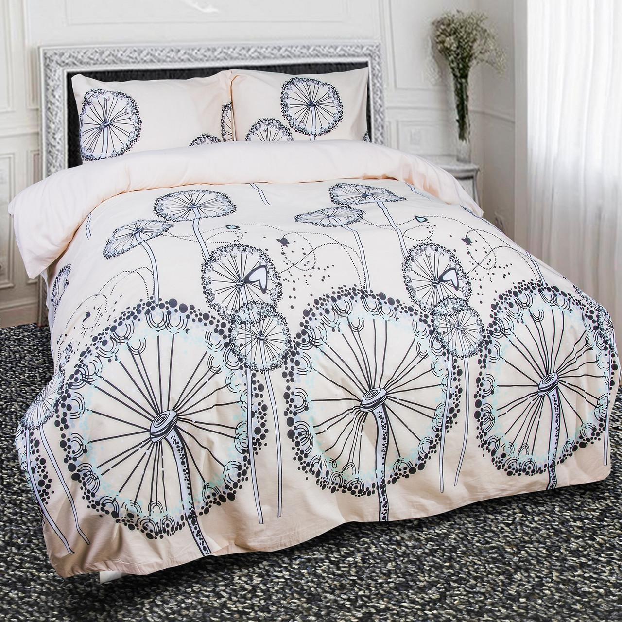 Евро комплект постельного белья Пирелия