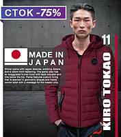 Японская зимняя куртка качественная Kiro Tоkao - 8807