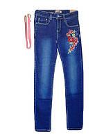 Брюки джинсовые для девочки оптом, Grace, размеры 134-164 арт. В 72184