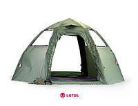 Летняя палатка Lotos 5 Мансарда, фото 1