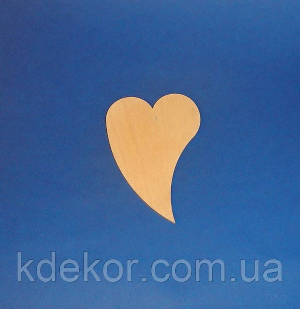 Сердце (Сердечко)  (маленькое) заготовка для декупажа и росписи