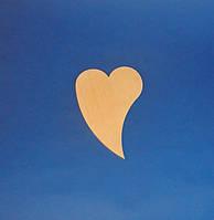 Сердце (Сердечко)  (маленькое) заготовка для декупажа и росписи, фото 1