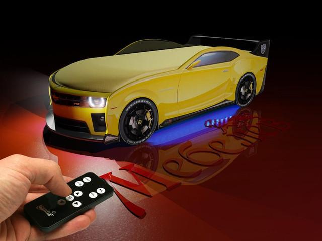 Кровати машины с подсветкой
