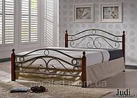 Кровать металлическая Джуди (Judi) 180 Onder Metal двуспальная