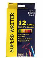 "Цветные карандаши ""Marco"" 12 цветов ""Jumbo"""
