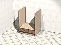 Тумба нижняя под духовку, фото 1