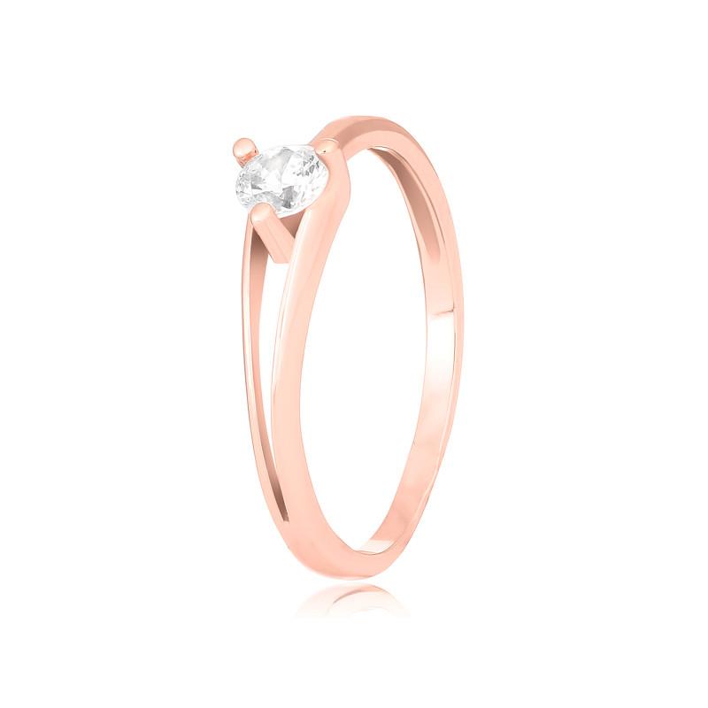"""Серебряное кольцо с позолотой недорого """"037"""""""