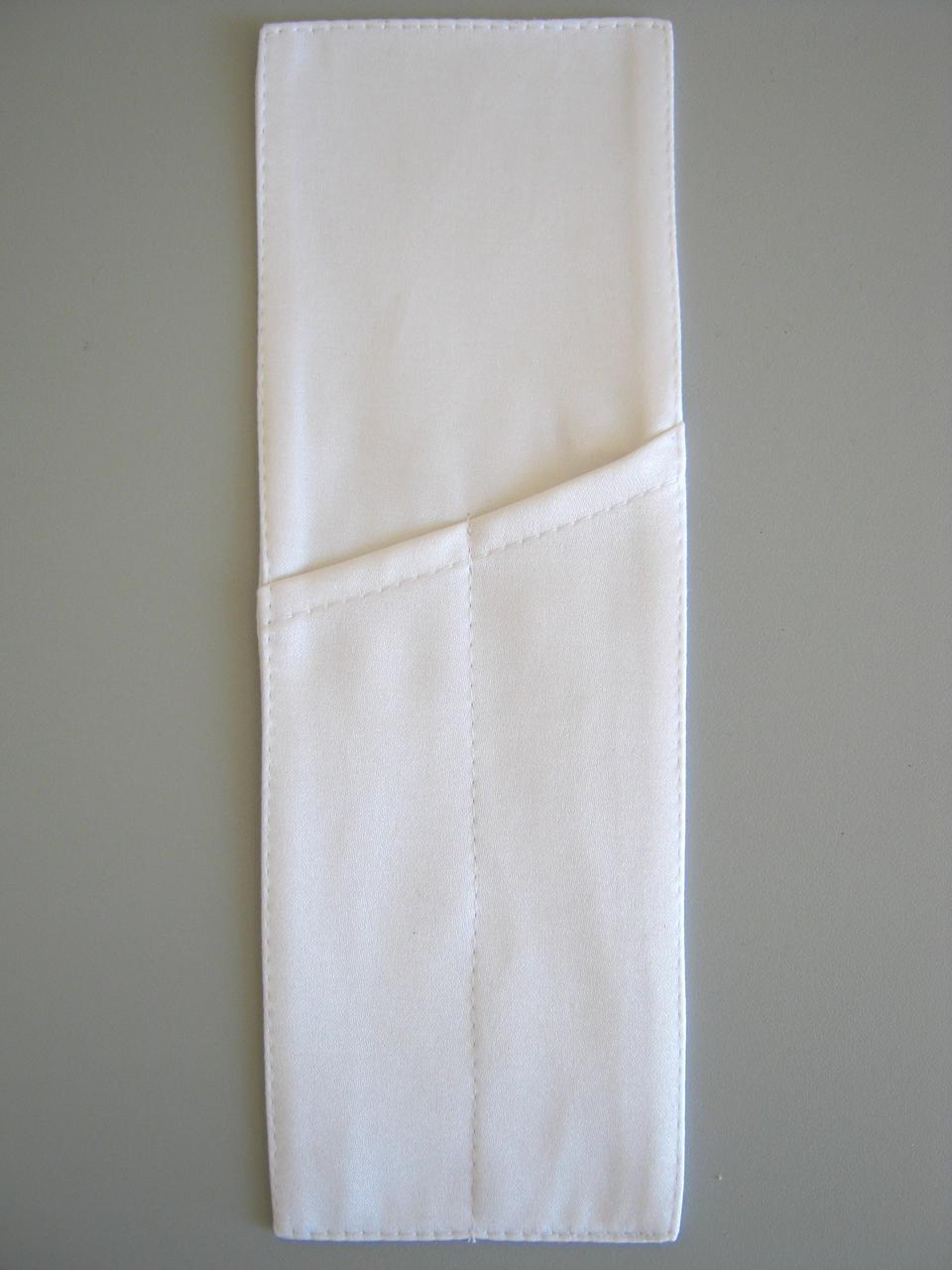 Куверт (конверт),на 2 прибора , ткань Ричард гладь, белый.