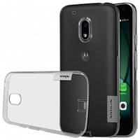 TPU чехол Nillkin Nature для Motorola Moto G4 Play (Серый)