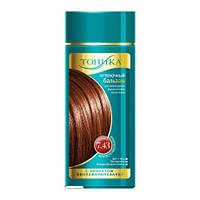 Оттеночный бальзам для волос Тоника 7.43 Золотисто-каштановый
