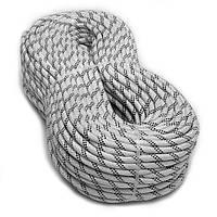 [100м] Верёвка статическая высокопрочная 10мм Sinew Master белая