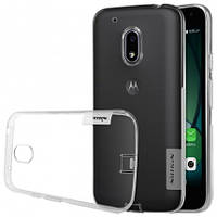 TPU чехол Nillkin Nature для Motorola Moto G4 Play (Бесцветный)