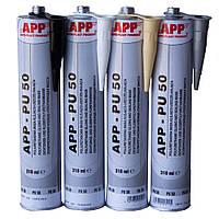 Герметик полиуретановый для швов APP PU50 310мл Желтый