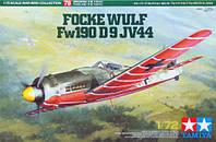 Focke Wulf Fw190 D-9 JV44 1/72 TAMIYA 60778